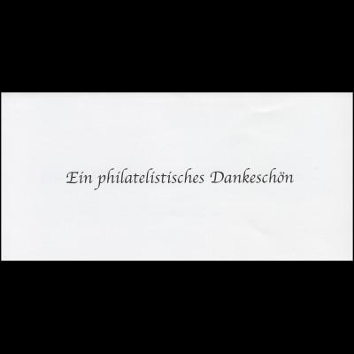 Jahresgabe der Post Tag der Briefmarke Bayern Nr.1 Der Eichstätt-Brief 2009
