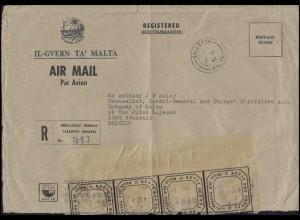 Regierung von Malta R-Brief VALLETTA an den Botschafter in Brüssel 15.6.82