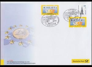 Dokumentation Euro-Einführung: Nur noch Euro-Marken 1.7.2002 SST Bonn
