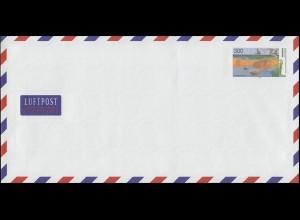 Ein Plusbrief USo 7 Boddenlandschaft ** mit Set-Quittung vom Ersttag 2.11.89