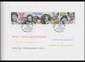 Schweiz: Jahresgabe der Post PTT Weihnachten 1997 & Damit wir uns näherkommen