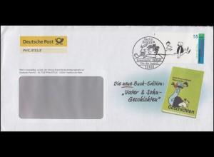 Post-Brief Die neue Buch-Edition Vater & Sohn-Geschichten 2351 FDC ESSt Berlin