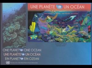 454-461 Bauwerke Kollektion 15 Eckrand-Vierer u. re., Formnummern, ** postfrisch