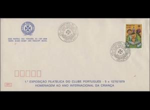 Brasilien: Lesen bildet, 1 Wert auf Schmuck-FDC Briefmarkenausstellung Sao Paulo