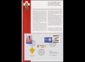 Feldpost Schweiz AC Schutzdienst FP 62 - FELDPOST POSTE DE CAMPAGNE 62 - 20.5.94