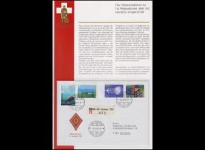 Feldpost Schweiz Materialdienst / P campo 101 FELDPOST 101 POSTA DA CAMPO 2.6.94