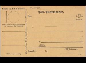 Landpost Winterstettenstadt über BIBERACH (Riß), Brief mit Neujahrskarte 1949