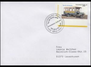 2456 Tag der Briefmarke & Kraftpostomnibus, FDC ESSt Berlin 12.5.2005