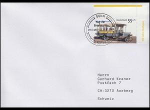 2456 Tag der Briefmarke & Kraftpostomnibus, FDC ESSt Bonn 12.5.2005