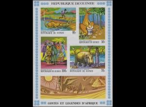Guinea: Märchen und Legenden Afrikas / Fairy Tales 1968, Block **