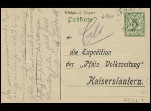 Bayern Bosenbach über ALTENGLAN 10.9.11 zur Pfälz. Volkszeitung Kaiserlautern