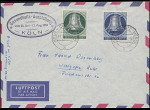 USA 55 Präsidenten 2 Cents auf Brief PENNSBOROGH W.VA. 9.9.1885