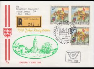 Bayern Orts-Postkarte 3 Pf. NÜRNBERG I. - 6.1.91