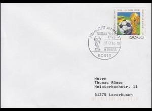 1718 Fußball & FIFA-Pokal, EF Bf SSt Frankfurt Fußball-WM in den USA 17.7.1994