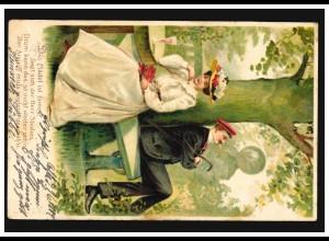 AK Freilichtmuseuem Oktorpsgarden Skansen, STOCKHOLM 9.2.1893 nach BRÜSSEL 11.2.