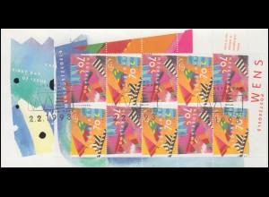 USA Postkarte 2 C. Liberty Einschreiben NEW YORK 23.2.06 Reklame Auto-Journal