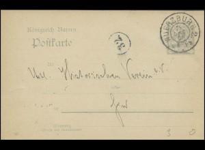 Bayern Orts-Postkarte WÜRZBURG 25.10.05 vom Architekten Ungerer, Kreisnummer 32