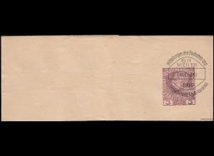 Dienstmarken Zirkel rechts 10+20+40 MiF Eil-Brief Karl-Marx-Stadt 17.2.59