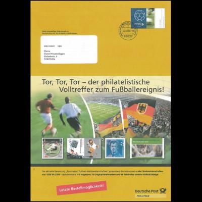 Plusbrief F153 Sport/Fußball: Fußball-Weltmeisterschaft Tor, Tor, Tor, 00.00.06