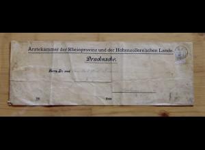 69 Germania 3 Pf EF Drucksache Ärztekammer, Cöln 30.3.04