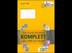 Plusbrief F453 Luthergedenkstätten: Vordruckalben KOMPLETT, 21.9.09