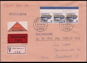 Tiere-AK Pfingsten Schmetterlinge Aurorafalter Zitronenfalter Kleiner Fuchs 1927
