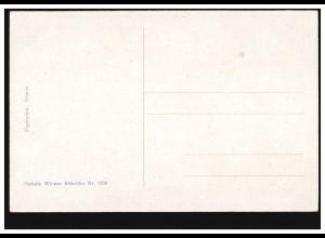 Postkarte P 63X mit Zudruck Glasewald Briefmarkenhandlung, GÖSSNITZ 31.12.1906
