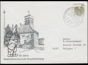 39II Netz 10 Pf. MeF Brief SSt HALSTENBEK Forstpflanzen-Anzucht 8.9.1948