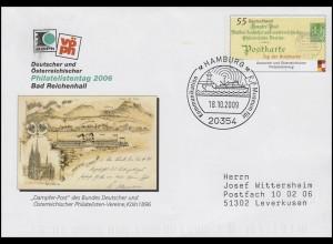 USo 122 Philatelistentag, SSt Hamburg Museum für Kommunikation & Schiff 18.10.09