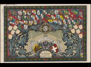 AK C.V. der Katholischen Deutschen Studenten-Verbindungen, ERLANGEN 10.11.1905