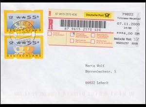 Erinnerungsbrief Heute Volksabstimmung im Saargebiet SAARBRÜCKEN 13.1.1935