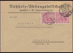 BuS Lichtenstein Paar & Wilhelmsthal & Herrenhausen, Eil-R-PK ESSt Bonn 16.6.82