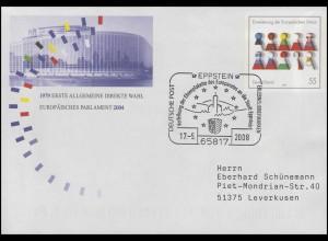 USo 75 Direktwahl Europäisches Parlament SSt Eppstein EU-Ehrenplakette 17.5.2008