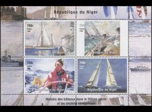 Ghana: Schiffe & Schifffahrt & Navigation - Segelregatten, Block **