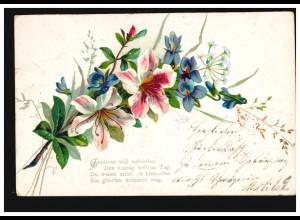 Niederländisch-Indien Umschlag König Wilhelm 10 auf 15 Cent Oval, ungebraucht **