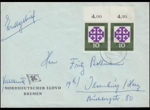 Niederländisch-Indien Umschlag Wilhelm III. 20 Cent blau, ungebraucht * fleckig