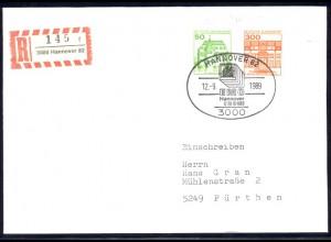 BuS 50+300 Letterset je Nr. MiF R-Bf. SSt Hannover