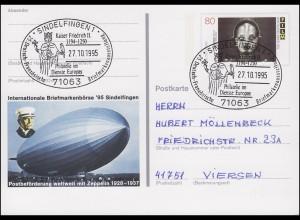 PSo 40 Sindelfingen Graf Zeppelin mit SSt Kaiser Friedrich II. 27.10.1995