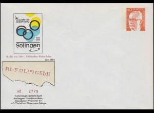 220a Thälmann 24 Pf. EF auf Brief SSt WERDAU 4.6.1949 nach Hohenstein-Ernstthal