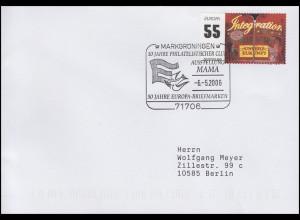 2535 EUROPA - Integration EF Brief SSt Markgröningen Europa-Briefmarken 6.5.2006
