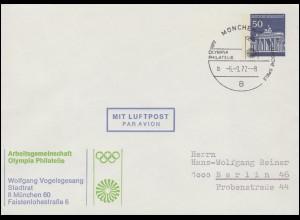 Germania 15 Pf. EF Brief von BEUEL 12.12.18 nach Münstereifel