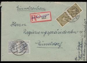 Bayern Dienstsache Kgl. Regierung von Oberbayern zum Bezirksamt MÜNCHEN 9.5.96
