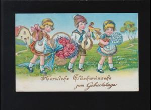 Bayern Postkarte Ziffer 5 Pf. KAISERSLAUTERN 8.5.89 nach Rheinberg/Niederrhein