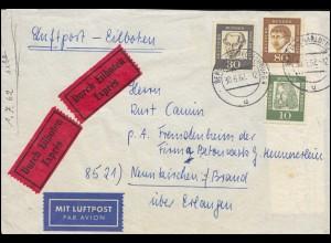 Bayern Postkarte Wappen 5 Pfennig: KAISERSLAUTERN 5.9. nach BERLIN 7.9.81