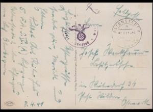 965-966 Leipziger Messe 1947 auf Messekarte SSt LEIPZIG Messe-Privileg 3.9.47