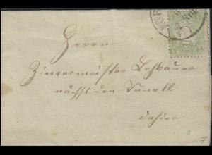 Bayern Brief NÜRNBERG 19.6.74 & Kreisnummer 34