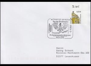 Tag der Briefmarke - Partnerschaft mit Birmingham, EF Bf SSt Frankfurt 3.9.2006