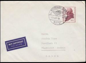 Niederländisch-Indien Umschlag König Wilhelm 25 Cent violett, ungebraucht **