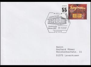 2535 EUROPA - Integration, EF Brief SSt Kiel Interkulturelle Wochen 20.9.2007