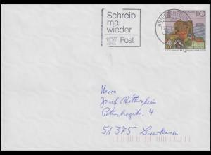 USo 1 Bad Frankenhausen, Werbestempel Schreib mal wieder BZ 20 - 24.11.98